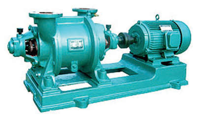 Liquid-ring vacuum pumps