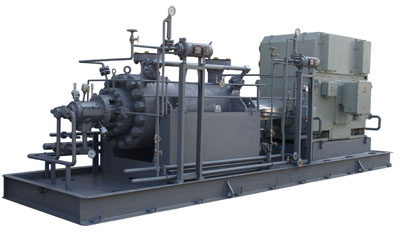 Horizontal multi-stage can pumps